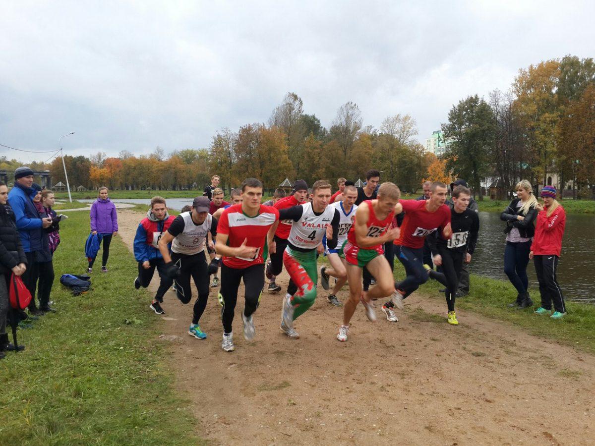 Лёгкоатлетический кросс среди студентов вузов города Витебска