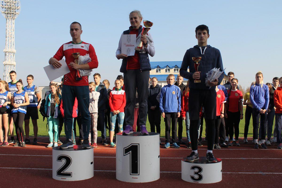 Лёгкоатлетическая эстафета на призы ГУ ГФСК и газеты «Витьбичи»