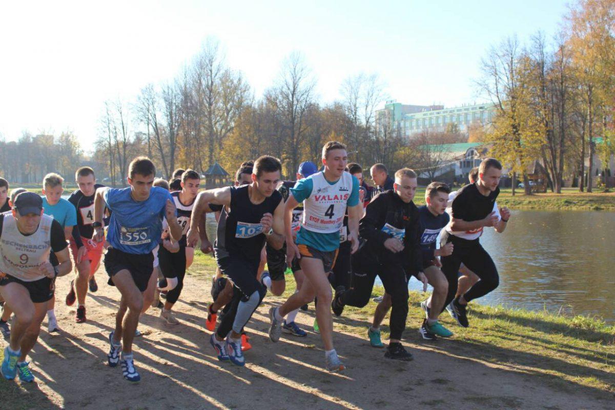 Лёгкоатлетический кросс среди студентов г. Витебска
