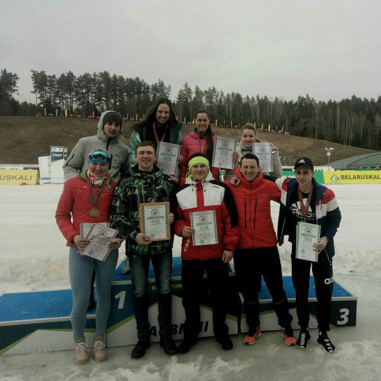 Республиканская универсиада по лыжным гонкам 2019