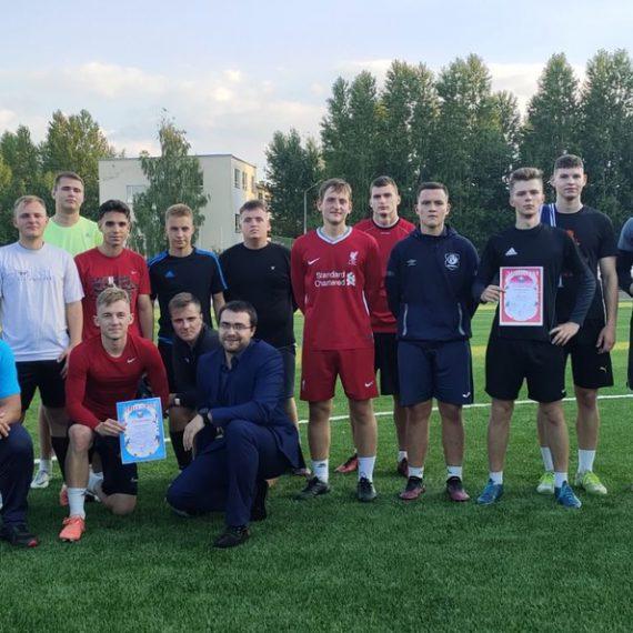 Футбол 8х8 среди студентов УО «ВГТУ»